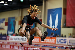 2020 USATF Indoor Championship<br /> Albuquerque, NM 2020-02-15<br /> photo credit: © 2020 Kevin Morris<br /> womens long jump,