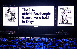 Presentation of Tokyo 2020 at Closing Ceremony during Day 11 of the Rio 2016 Summer Paralympics Games on September 18, 2016 in Maracanã Stadium, Rio de Janeiro, Brazil. Photo by Vid Ponikvar / Sportida