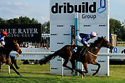 """Beer With The Boys ridden by Callum Shepherd and trained by Mick Channon in the Play """"Four From The Top"""" At Valuerater.Co.Uk Handicap (Value Rater Racing Club Summer Stayers' Qual) race.  - Ryan Hiscott/JMP - 02/08/2019 - PR - Bath Racecourse - Bath, England - Race Meeting at Bath Racecourse"""