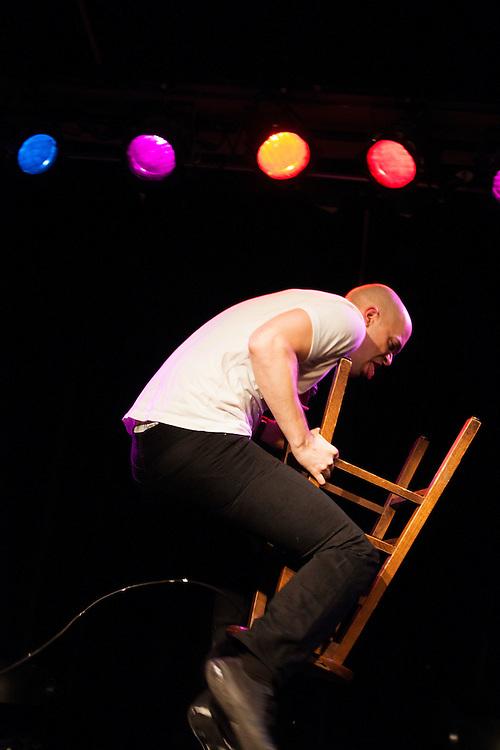 Jeff Wesselschmidt as JB Smoove - Schtick or Treat 2013 - Littlefield, Brooklyn - October 27, 2013