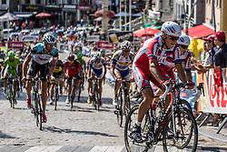 Geraardsbergen, Belgium - Eneco Tour :: Stage 7 - 18th August 2013 - Group behind the peloton