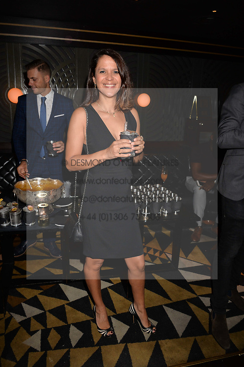 Lisa Moorish at the Quaglino's Q Legends Summer Launch Party hosted by Henry Conway at Quaglino's, 16 Bury Street, London England. 18 July 2017.