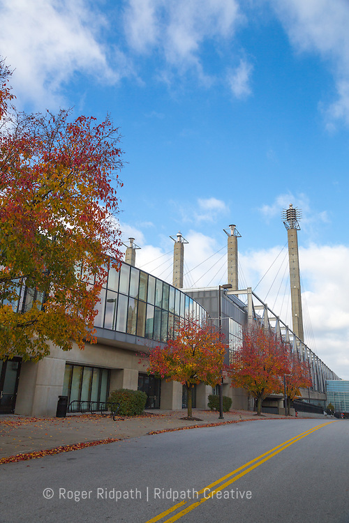 bartle hall sky stations with fall color