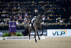 Barbancon Mestre Morgan, ESP, Sir Donnerhall II Old<br /> Vlaanderens Kerstjumping - Memorial Eric Wauters - Mechelen 2018<br /> © Hippo Foto - Dirk Caremans<br /> 29/12/2018