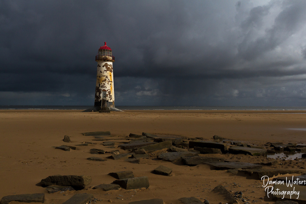 Talacre Lighthouse, Point of Ayr, Wales - April