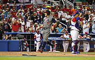 World Baseball Classic: USA v Dominican Republic 11 March 2017