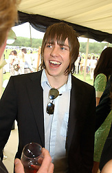 DANNY JONES? from pop group McFly at the Kuoni World Class Polo Day held at Hurtwood Park Polo Club, Surrey on 29th May 2005.<br /><br />NON EXCLUSIVE - WORLD RIGHTS