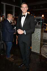 PETER REED at the OMEGA VIP dinner hosted by Cindy Crawford and OMEGA President Mr. Stephen Urquhart held at aqua shard', Level 31, The Shard, 31 St Thomas Street, London, SE1 9RY on 10th December 2014.