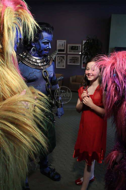 Seattle Opera's 2011 production of Magic Flute Family Day