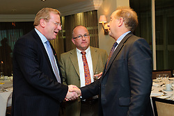 Pictured is guest speaker John Giles, divisional director at Promar International, left, speaking to guests at the event<br /> <br /> Clydesdale and Yorkshire Bank food and the world dinner held at Lincoln Hotel as part of the bank's business week.  Promar International divisional director John Giles was the guest speaker at the event.<br /> <br /> Date: November 12, 2015<br /> Picture: Chris Vaughan/Chris Vaughan Photography