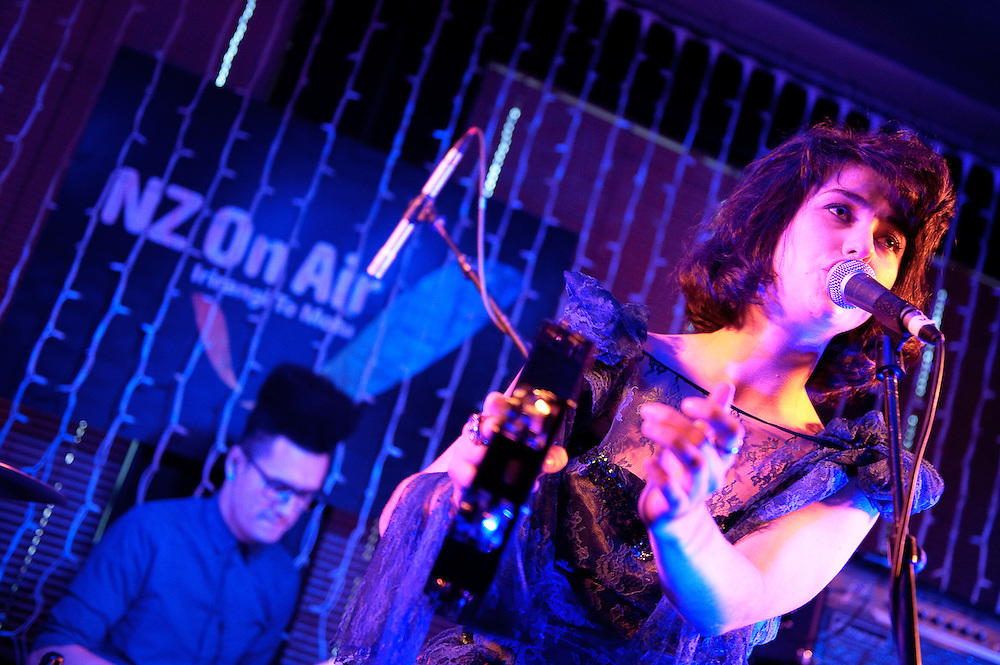 Kimbra performs at NZ On Air Showcase. Backbeat Bar, Auckland. 10 November 2010