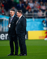 Rugby Union - 2019 Rugby World Cup - Bronze Final (Third Place Play-Off): Wales vs. France<br /> <br /> Steve Hansen head coach of New Zealand at Tokyo Stadium, Tokyo.<br /> <br /> COLORSPORT/LYNNE CAMERON
