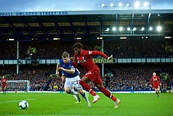 LIVERPOOL, ENGLAND - Sunday, March 3, 2019: Liverpool's Divock Origi during the FA Premier League match between Everton FC and Liverpool FC, the 233rd Merseyside Derby, at Goodison Park. (Pic by Paul Greenwood/Propaganda)