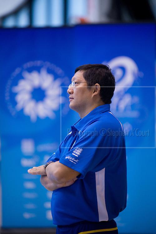 Malaysia's Head Olympic Diving Coach, Yang Zhu Liang.