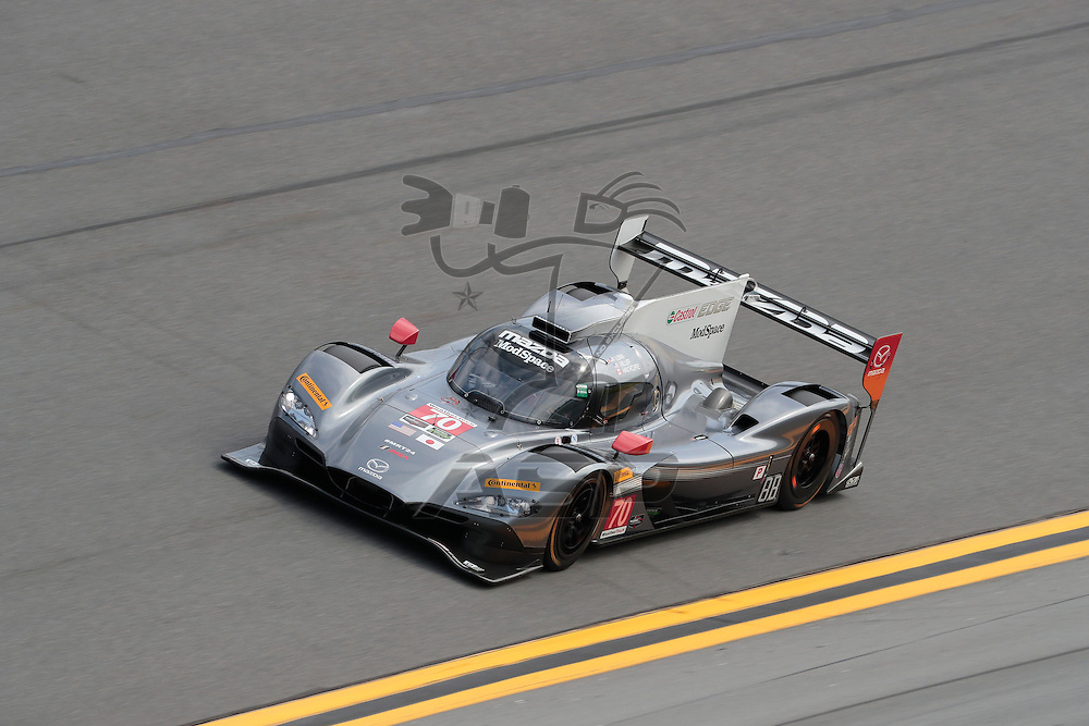 January 26, 2017 - Daytona Beach, Florida, USA:  The IMSA WeatherTech SportsCar Championship practice during the Rolex 24 At Daytona at Daytona International Speedway in Daytona Beach, Florida.