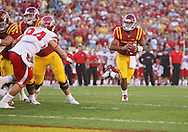 October 9 2010: Iowa State Cyclones quarterback Austen Arnaud (4) runs an option play during the first half of the NCAA football game between the Utah Utes and the Iowa State Cyclones at Jack Trice Stadium in Ames, Iowa on Saturday October 9, 2010. Utah defeated Iowa State 68-27.
