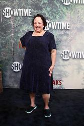 May 19, 2017 - Los Angeles, CA, USA - LOS ANGELES - MAY 19:  Leslie Berger at the ''Twin Peaks'' Premiere Screening at The Theater at Ace Hotel on May 19, 2017 in Los Angeles, CA (Credit Image: © Kay Blake via ZUMA Wire)
