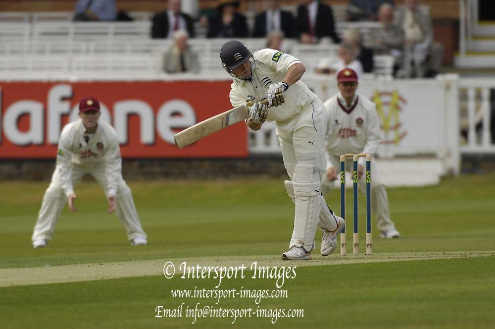 London, GREAT BRITAIN, Ben HUTTON, during the first session  the Liverpool Victoria Div 2 County championship match between  Middlesex vs Northamptonshire, at Lords Cricket ground, England on Wed 25.04.2007  [Photo, Peter Spurrier/Intersport-images].....