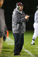October 9, 2009:  Genoa Coach Micke Vicars during the High School football game between Gibsonburg Bears and Genoa Comets at Genoa Stadium in Genoa, Ohio.