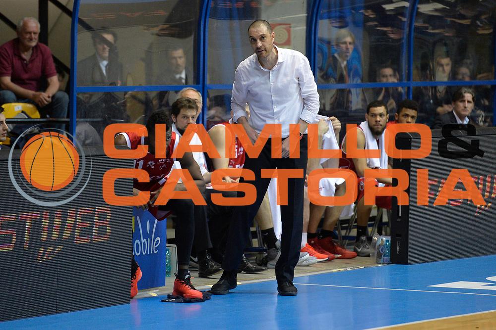 Vincenzo Esposito<br /> Red October Cantu' vs The Flexx Pistoia<br /> Lega A  2016/2017<br /> Milano 15/04/2017<br /> Foto Ciamillo-Castoria<br /> Provvisorio