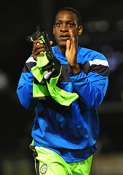New signing Isaiah Osbourne of Forest Green Rovers - Mandatory by-line: Nizaam Jones/JMP - 22/09/2017- FOOTBALL - New Lawn Stadium - Nailsworth, England - Forest Green Rovers v Swindon Town - Sky Bet League Two