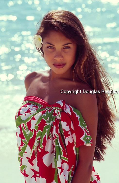polynesian woman, hula<br />