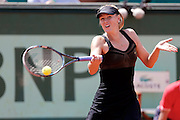 Roland Garros. Paris, France. May 29th 2012.Russian player Maria SHARAPOVA against Alexandra CADANTU.