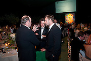 KEVIN SPACEY; HAMISH JENKINSON; RUSSELL CROWE;<br /> . The Ormeley dinner in aid of the Ecology Trust and the Aspinall Foundation. Ormeley Lodge. Richmond. London. 29 April 2009