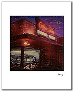 Algemacs, Los Angeles 2000. Polaroid photograph, Signed 11x14 archival pigment print free shipping USA<br />