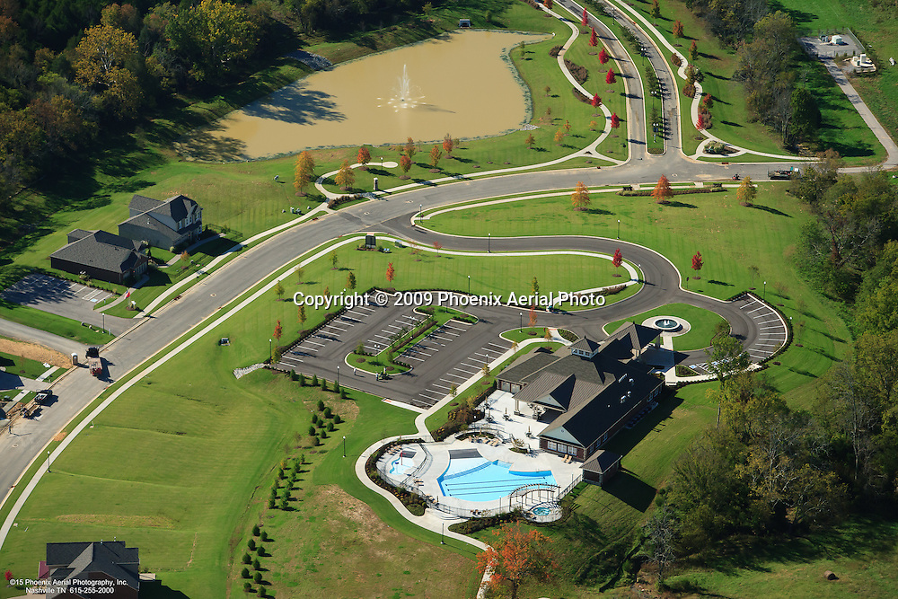 Aerial Photo Of The Stonebridge Community In Lebanon Tennessee