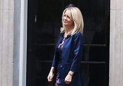 Esther McVey - New Minister for Employment. <br /> Esther McVey arrives at 10 Downing street, the British Prime Minister David Cameron's residence,  to be named Minister of Employment in the British Government reshuffle, 10 Downing Street, London, United Kingdom. Monday, 7th October 2013. Picture by Max Nash / i-Images