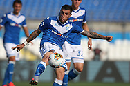 Brescia Calcio's Italian defender Stefano Sabelli clears the ball during the Serie A match at Stadio Mario Rigamonti, Brecsia. Picture date: 27th June 2020. Picture credit should read: Jonathan Moscrop/Sportimage