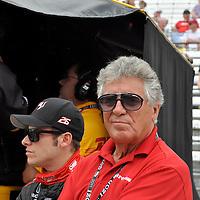 Mario Andretti and...at Indycar May 2011 - Indianapolis