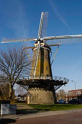 Molen De Geregtigheid, Katwijk aan de Rijn, Zuid Holland, Netherlands