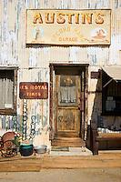 Austin's Second Hand Garage Antique Shop, Randsburg, California