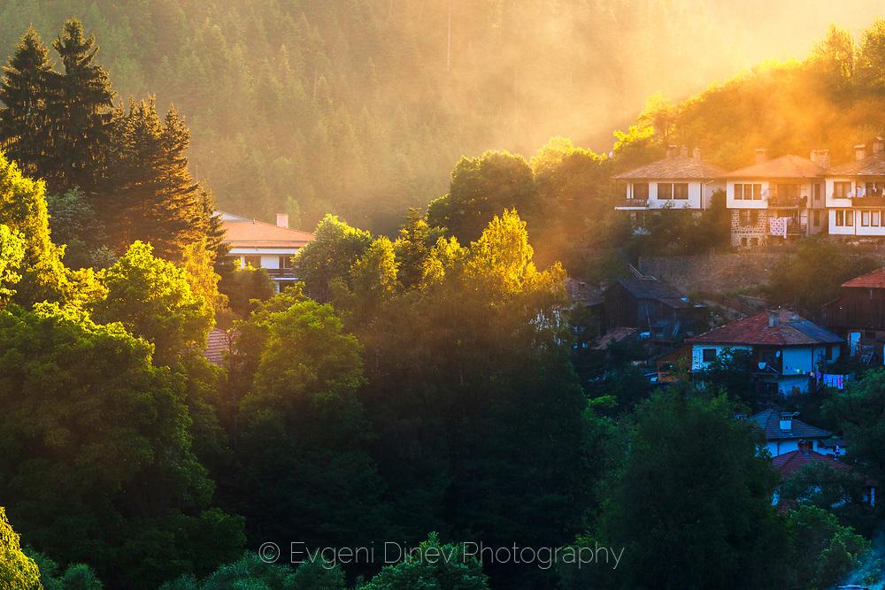 Rhodopean village Shiroka Laka