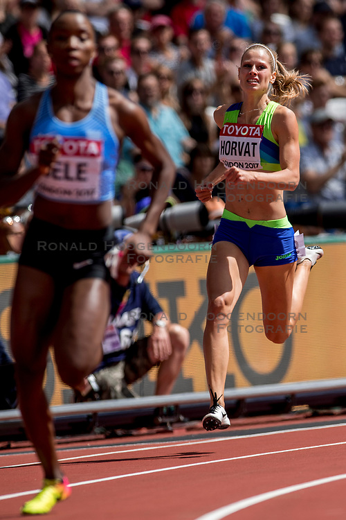 06-08-2017 IAAF World Championships Athletics day 3, London<br /> Anita Horvat SLO 400m