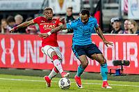 ALKMAAR - 25-05-2017, AZ, - FC Utrecht, AFAS Stadion, 3-0, AZ speler Dabney dos Santos Souza, FC Utrecht speler Sean Klaiber