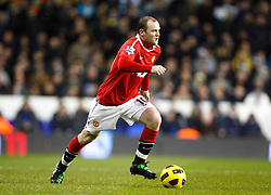 16.01.2011, White Hart Lane, Lundon, ENG, PL, Tottenham Hotspur vs Manchester United, im Bild Wayne Rooney of Manchester United .Tottenham Hotspur v Manchester United.at White Hart Lane, London 16/01/2011. EXPA Pictures © 2011, PhotoCredit: EXPA/ IPS/ Kieran Galvin +++++ ATTENTION - OUT OF ENGLAND/UK and FRANCE/FR +++++