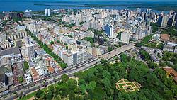 A Avenida João Pessoa interliga o centro à zona sul. Começa na Avenida Salgado Filho, atravessa o bairro Cidade Baixa e termina na Avenida Bento Gonçalves, no bairro Azenha. FOTO: Jefferson Bernardes/ Agência Preview