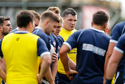 Bristol Rugby replacement James Phillips looks on - Mandatory byline: Rogan Thomson/JMP - 07966 386802 - 13/09/2015 - RUGBY UNION - Old Deer Park - Richmond, London, England - London Welsh v Bristol Rugby - Greene King IPA Championship.