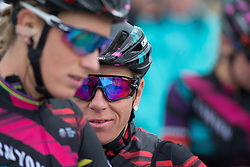 Trixi Worrack (GER) of CANYON//SRAM Racing thinks about the race after finishing the Amstel Gold Race Ladies Edition - a 121.6 km road race, between  Maastricht and Valkenburg on April 16, 2017, in Limburg, Netherlands.