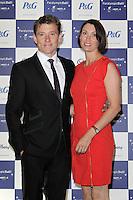 LONDON - SEPTEMBER 05: Ben Shephard; Annie Shephard attended the Paralympic Ball 2012, Grosvenor House Hotel, London, UK. September 05, 2012. (Photo by Richard Goldschmidt)