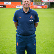 NLD/Velsen/20130701 - Selectie Nederlands Dames voetbal Elftal, keeperstrainer Jan Willem van Ede