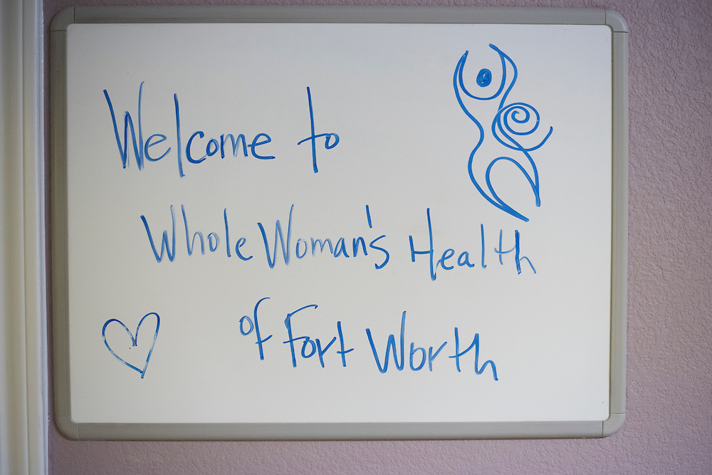FORT WORTH, TX - FEBRUARY 25:  An interior look at Whole Woman's Health on February 25, 2016 in Fort Worth, Texas.  (Photo by Cooper Neill for The Washington Post)