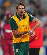 David Wiese of South Africa during the 2015 KFC T20 International game between South Africa and the West Indies at Newlands Cricket Ground, Cape Town on 9 January 2015 ©Ryan Wilkisky/BackpagePix