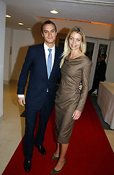The EARL & COUNTESS OF MORNINGTON at a party to celebrate the 90th birthday of Vogue magazine held at The Serpentine Gallery, Kensington Gardens, London on 8th November 2006.<br /><br />NON EXCLUSIVE - WORLD RIGHTS