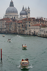 A view of Santa Maria della Salute commonly known simply as the Salute on the Grand Canal in Venice. From a series of travel photos in Italy. Photo date: Sunday, February 10, 2019. Photo credit should read: Richard Gray/EMPICS Entertainment