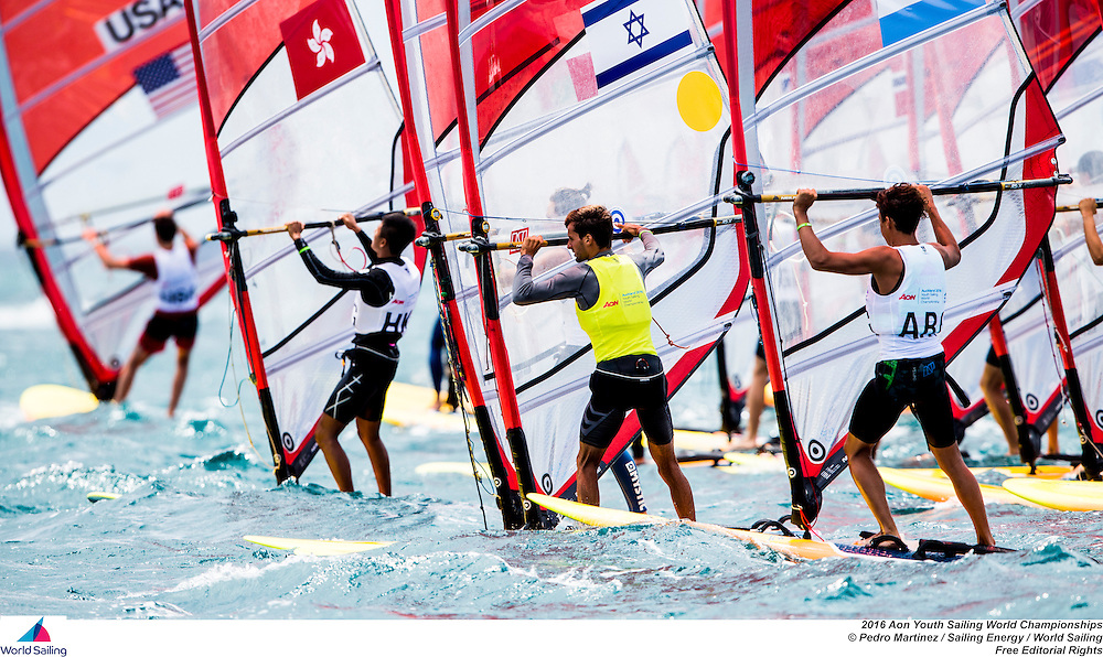 Auckland, New Zealand is hosting the Aon Youth Sailing World Championships, the 46th edition, from 14 to 20 December 2016. More than 380 sailors from 65 nations sailing in more than 260 boats across nine disciplines will compete in New Zealand.