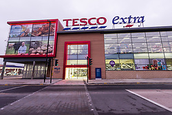 Tesco Extra, Rotherham, Yorkshire UK